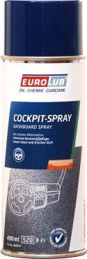 Полироль для приборной панели Eurolub Cockpit Spray