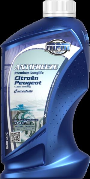 MPM Antifreeze Premium Longlife Citroen/Peugeot (-70С, синий)