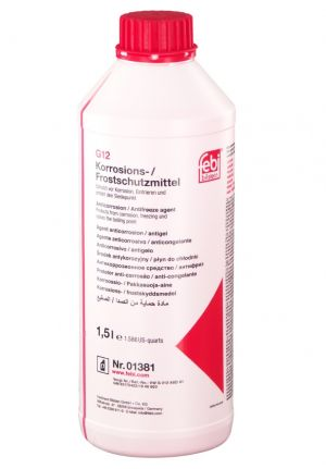 FEBI Coolant G12 (-70C, красный)