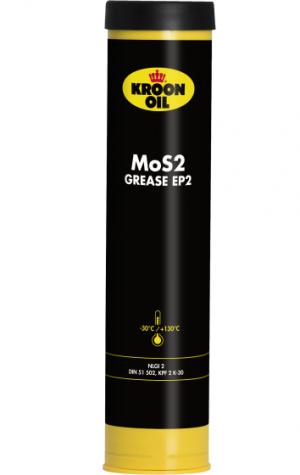 Многоцелевая смазка (литиевый загуститель и молибден) Kroon Oil MoS2 Grease EP 2