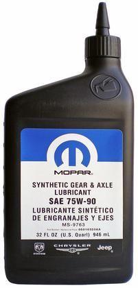 Mopar Synthetic Gear Lubricant SAE 75W-90