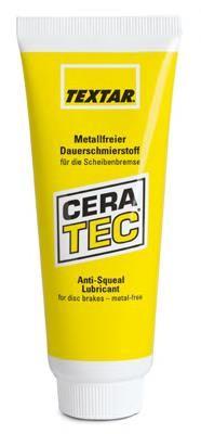 Термопаста (антискрип) для колодок Textar Cera Tec