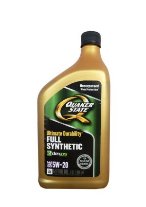 QUAKER STATE Ultimate Durability Full Synthetic 5W-20