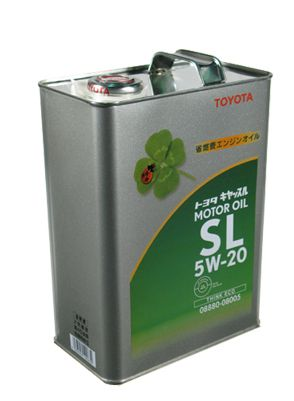 Toyota Motor Oil 5W-20 SL
