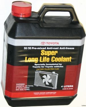 Toyota Super Long Life Coolant Pre-Mixed
