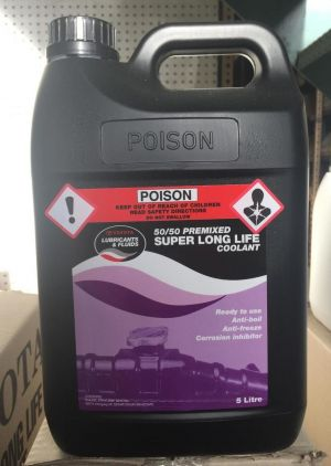 Toyota Super Long Life Coolant Premixed