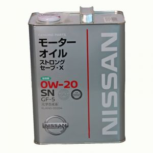 Nissan Strong Save X 0W-20 SN