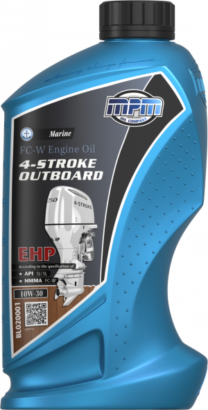 MPM Marine FC-W Engine Oil Outboard EHP 10W-30 4T