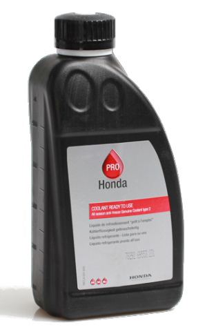 Honda Coolant Blue