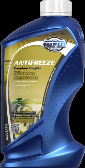 MPM Antifreeze Premium Longlife Renault/Nissan (-70С, желтый)