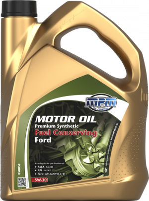 MPM Premium Synthetic Fuel Conserving Ford 5W-30
