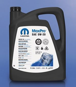 Mopar Engine Oil SAE 0W-20