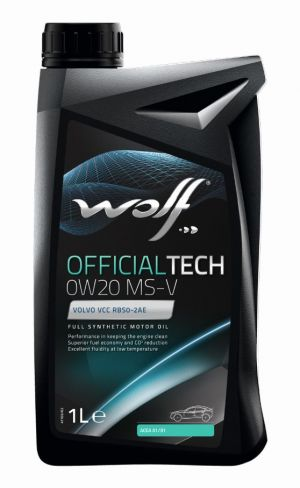 Wolf Official Tech 0W-20 MS-V
