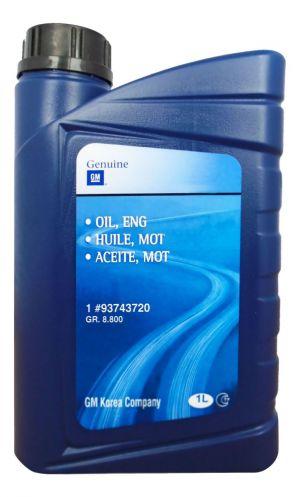 GM Motor Oil 5W-40