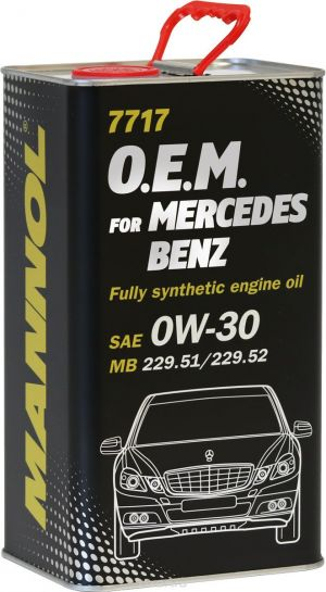 MANNOL 7717 O.E.M. for Mercedes Benz 0W-30