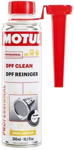 Присадка в дизтопливо (очиститель сажевого фильтра) Motul DPF Clean