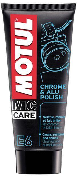 Очиститель хромированных деталей MOTUL E6 Chrome & Alu Polish