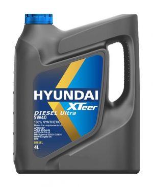 Hyundai XTeer Diesel Ultra 5W-40