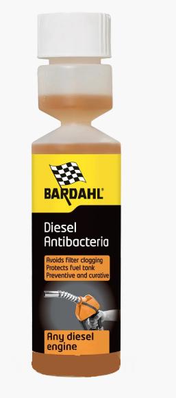 Присадка в дизтопливо (антибактериальная) Bardahl Anti Bacteria