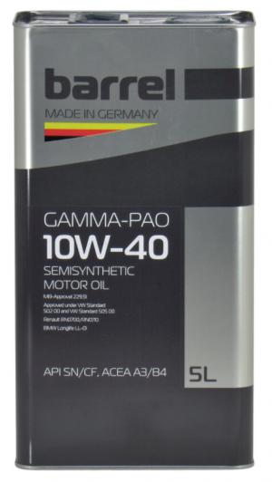 Barrel Gamma-Pao 10W-40