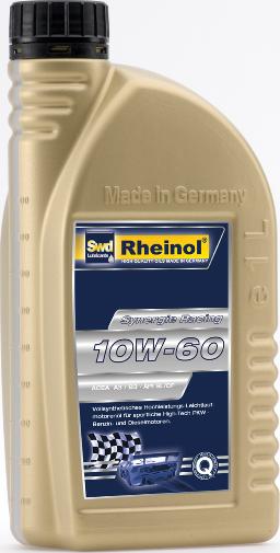 Rheinol Synergie Racing SAE 10W-60