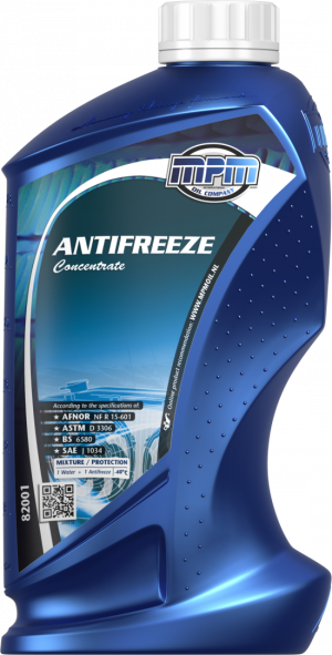 MPM Antifreeze Concentrate (-70С, синий)
