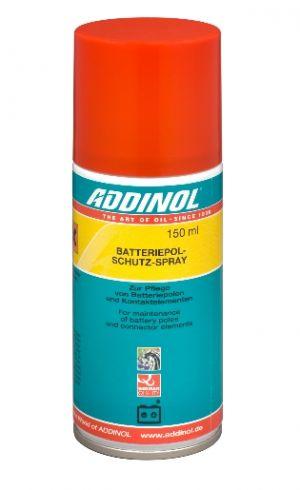 Очиститель - смазка для клемм и контактов Addinol Batteriepolschutz spray