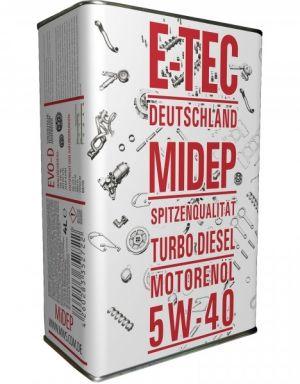 E-TEC 5W-40 EVO-D