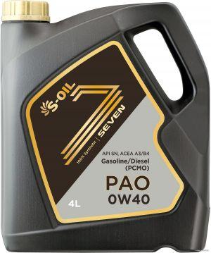 S-OIL Seven PAO 0W-40
