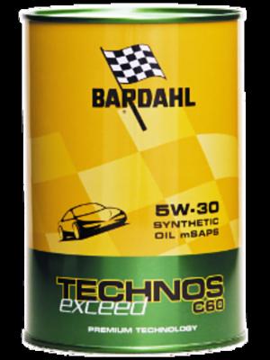 Bardahl Technos C 60 5W-30 Low Saps