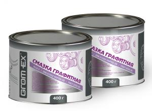 Многоцелевая смазка (литий и графит) Grom-Ex Графитная