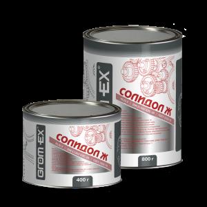 Многоцелевая смазка (кальциевый загуститель) Grom-Ex Солидол-Ж