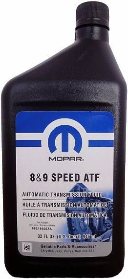 Mopar ATF ZF 8 & 9 speed
