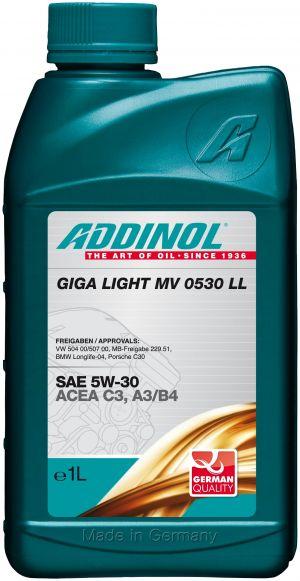 Addinol Giga Light MV 0530 LL 5W-30