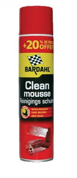 Универсальный очиститель BARDAHL CLEAN MOUSSE CONCENTRE