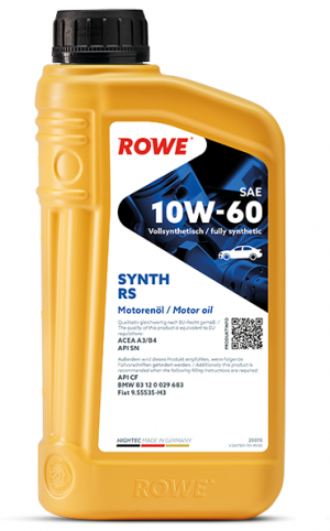 Rowe Hightec Synt RS 10W-60