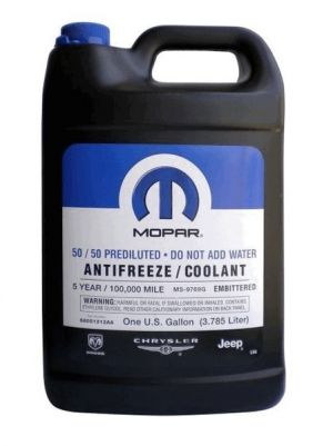 Mopar 50/50 Prediluted Antifreeze/Coolant 5-Year