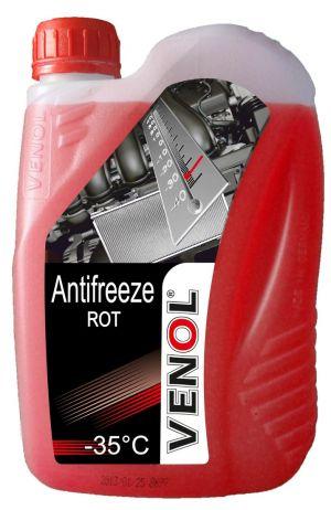 Venol Antifreeze (-35C, красный)