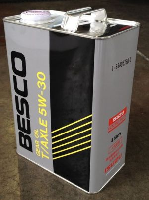 Isuzu Besco Gear Oil T/Axle 5W-30