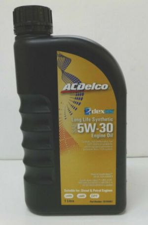 ACDelco Long Life dexos 2 5W-30