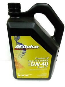 ACDelco Premium HP Synthetic Diesel Engine Oil 5W-40