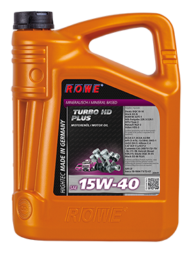 Rowe HighTec Turbo HD 15W-40 Plus