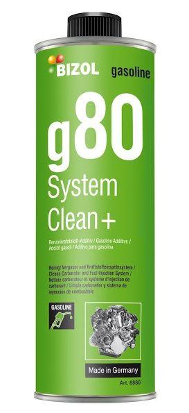 Средство для очистки клапанов и камеры сгорания BIZOL Gasoline System Clean+ g80