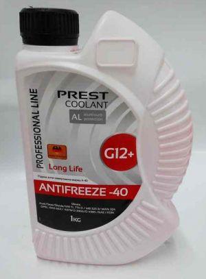 Prest Coolant Antifreeze Red (-40С, красный)