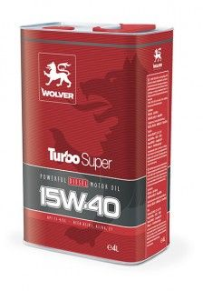 Wolver Turbo Super SAE 15W-40