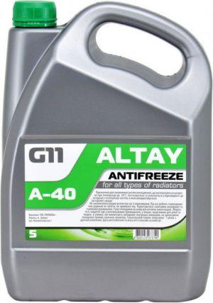 Altay Antifreeze G11 (-40C, зеленый)