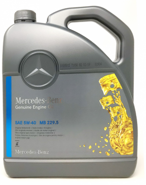 Mercedes PKW Engine Oil 5W-40
