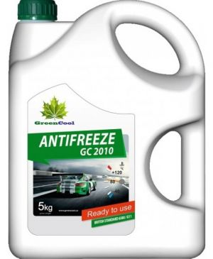Greencool Antifreeze GC 2010 (-35C, зеленый)