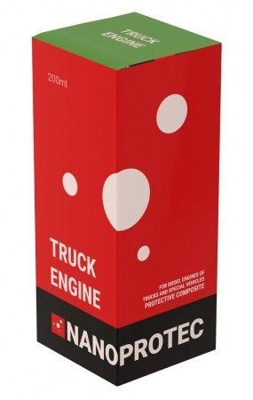 Присадка в масло моторное (дополнительная защита) Nanoprotec Truck Engine
