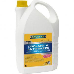 Ravenol TTC Coolant Concentrate (-72C, желтый)